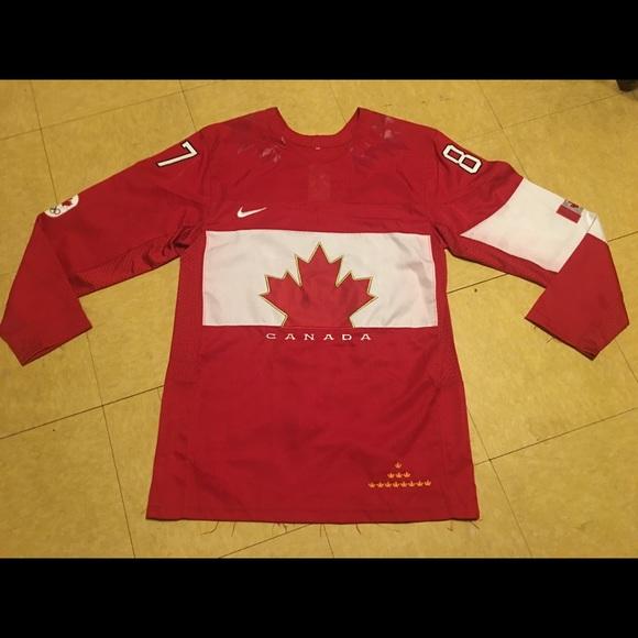 online retailer 77127 5ffcc Sydney Crosby Team Canada Olympic Jersey Hockey